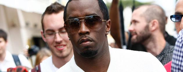 In Cannes: P. Diddy kauft ein