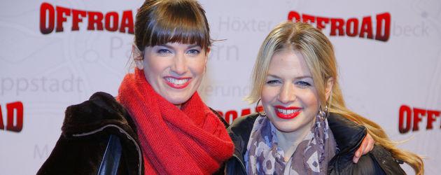 Isabell Horn und Susan Sideropoulos strahlen in die Kamera