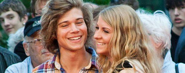 Jascha Rust mit Freundin