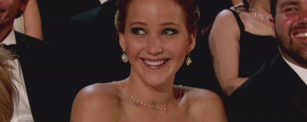 Jennfier Lawrence bei den Oscars