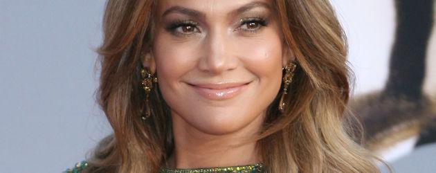 Jennifer Lopez in grün