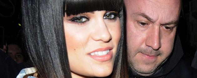 Jessie J mit neuem Farbverlauf im Haar