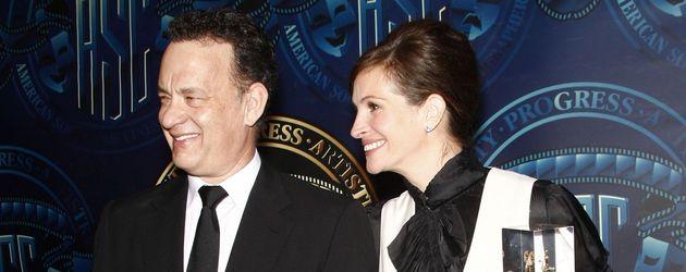 Julia Roberts und Tom Hanks zusammen auf einem Event