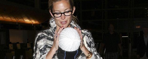Kate Hudson mit ihrem Sohn Bingham unterwegs