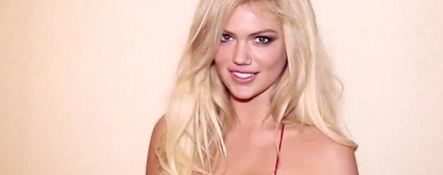 Kate Upton im sexy roten Bikini