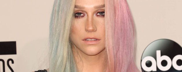 Kesha sieht fertig aus