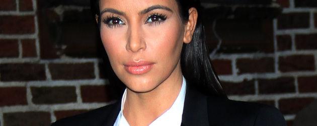 Kim Kardashian lacht nicht