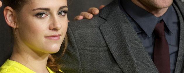 Kristen Stewart und Robert Pattinson gut gelaunt