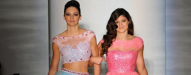 Kylie und Kendall auf der NYFW