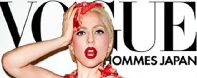 Lady GaGa auf der Vogue Homme