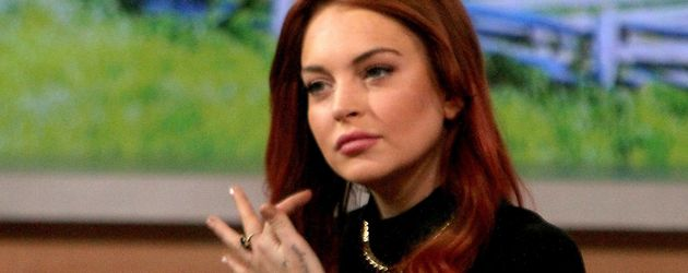 "Lindsay Lohan in der ""Good Morning America""-Show"