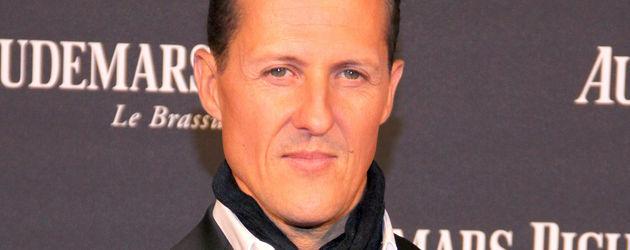 Michael Schumacher im Anzug