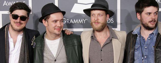 Mumford and Sons bei der Grammy Awards Verleihung 2013