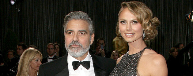 Oscars 2013: George Clooney & Stacy Keibler
