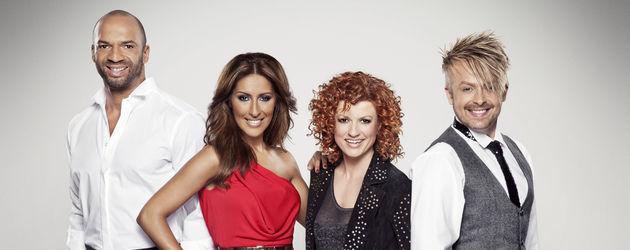 Popstars-Jury Detlef, Lucy, Ross und Senna