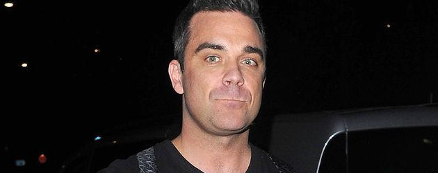Robbie Williams guckt enttäuscht