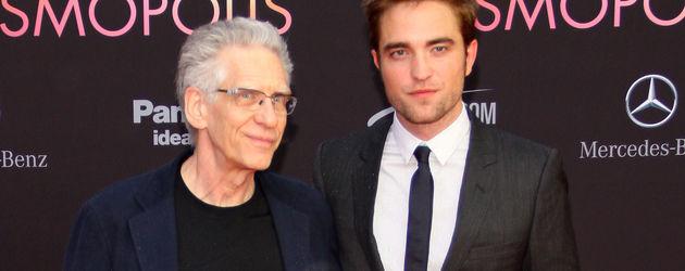 Robert Pattinson und David Cronenberg in Berlin