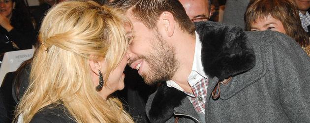 Shakira und Gerard Piqué kurz vorm Kuss