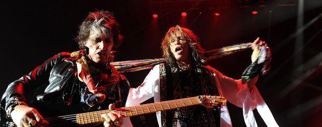 Steven Tyler und Joe Perry bei einem Konzert