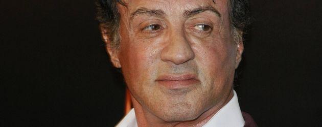Sylvester Stallone im Anzug