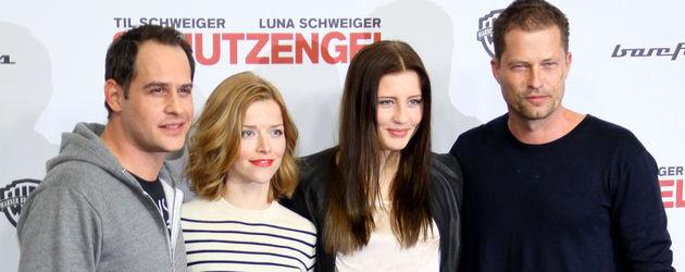 Til Schweiger, Moritz Bleibtreu und Luna Schweiger