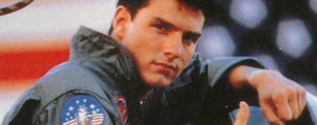 "Tom Cruise auf dem ""Top Gun""-Plakat"