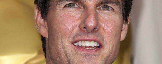 Tom Cruise zeigt seine Zähne