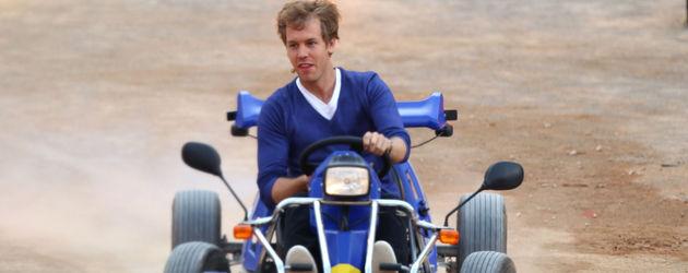 Wetten dass: Sebastian Vettel fährt in die Arena