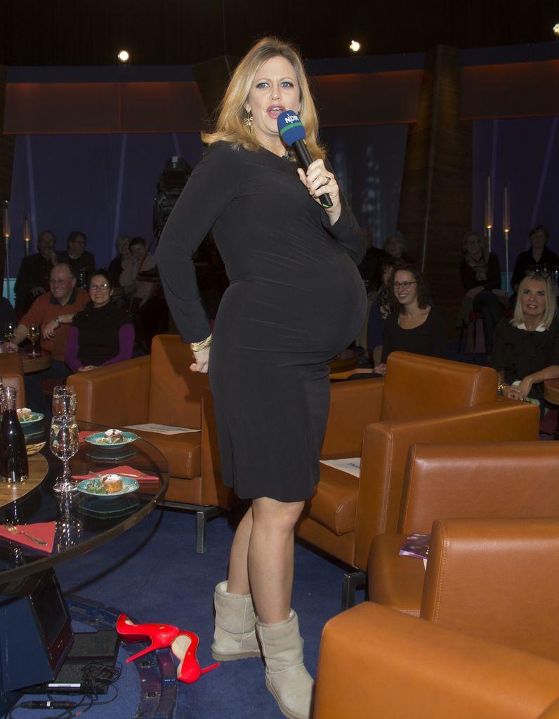 Barbara Schöneberger: Wow, was für ein Baby Bauch