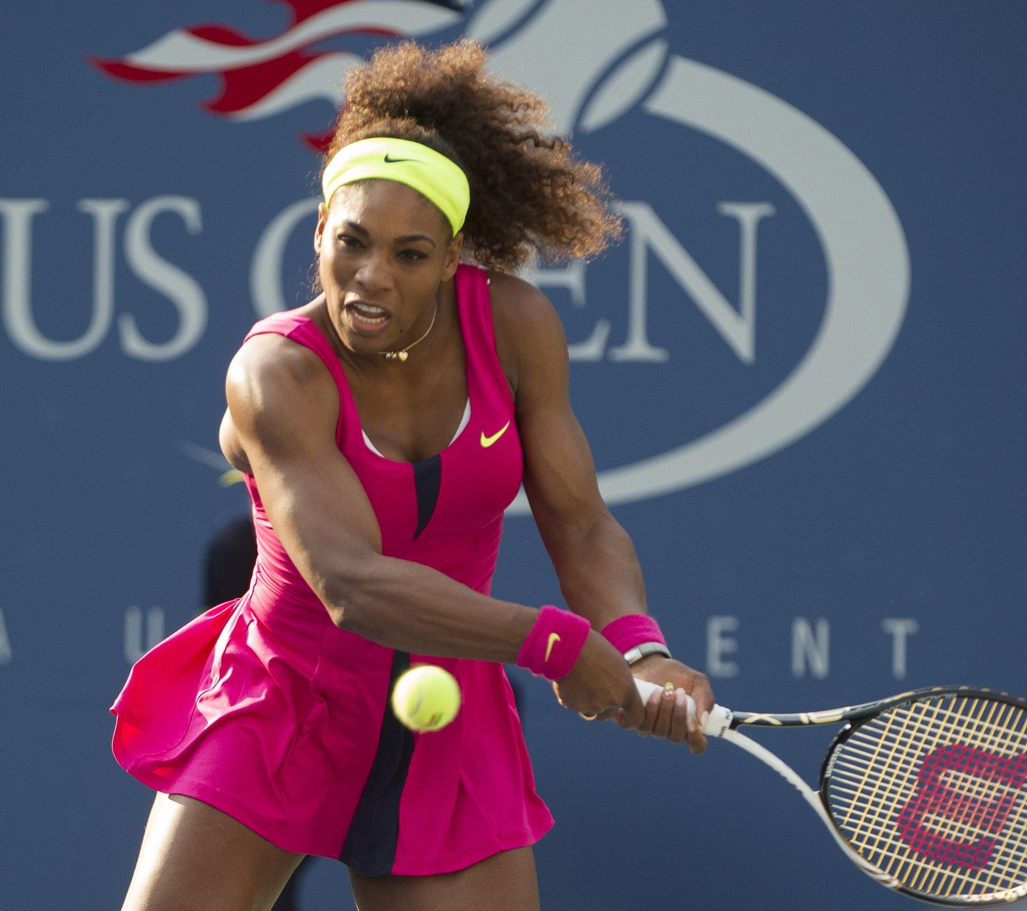 Serena williams schwarze Muschi
