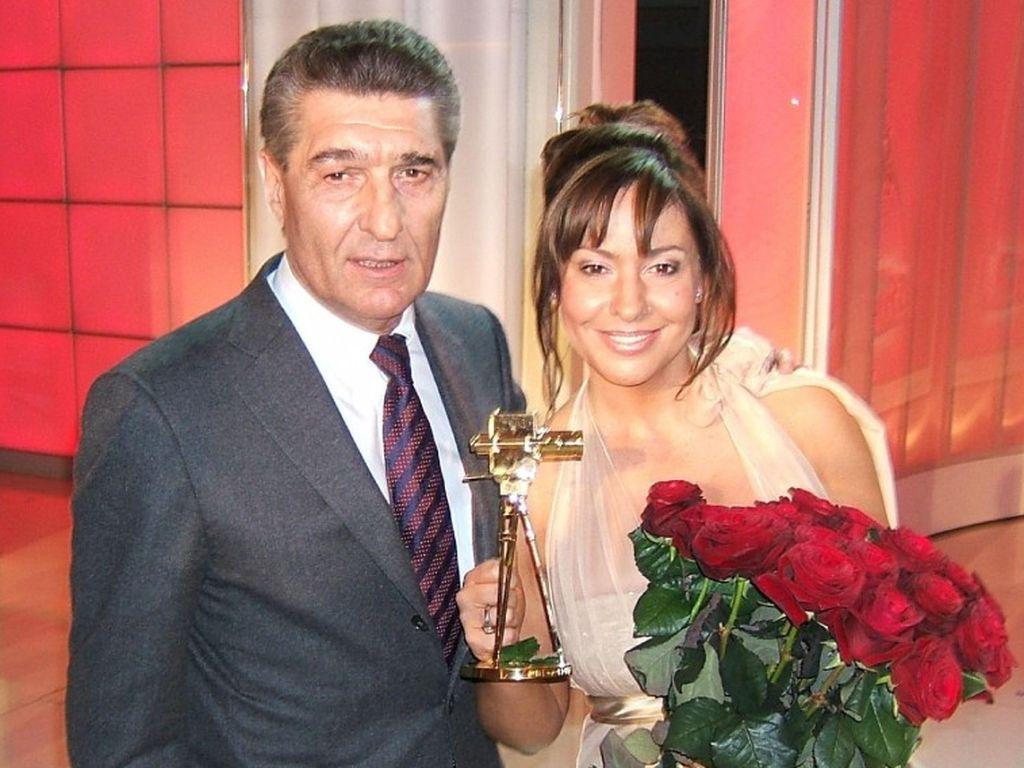 Simone Thomalla und Rudi Assauer