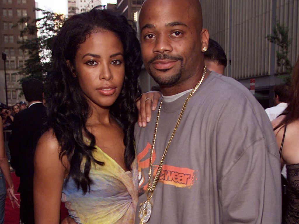aaliyah und Damon Dash