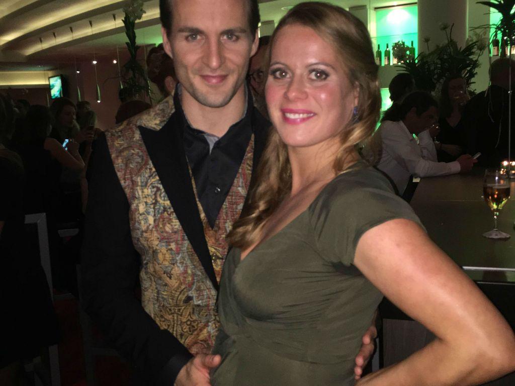 Alexander Klaws mit seiner schwangeren Freundin