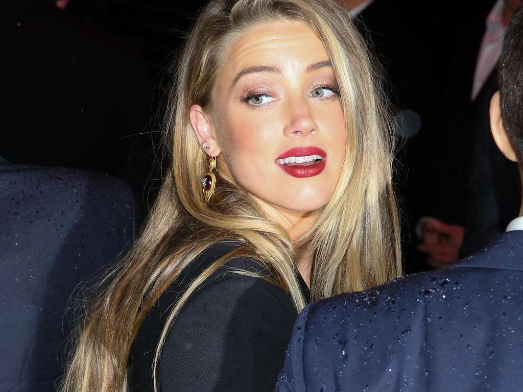 Amber Heard auf einer Party im Rahmen der Met Gala 2016