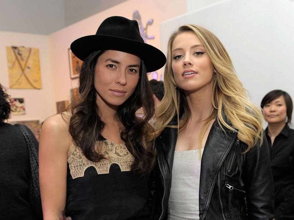 Tasya van Ree und Amber Heard