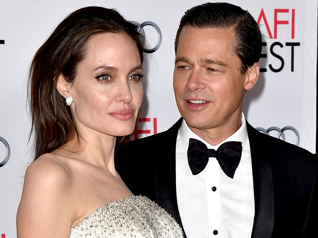 Angelina Jolie und Brad Pitt im November 2015 in Los Angeles