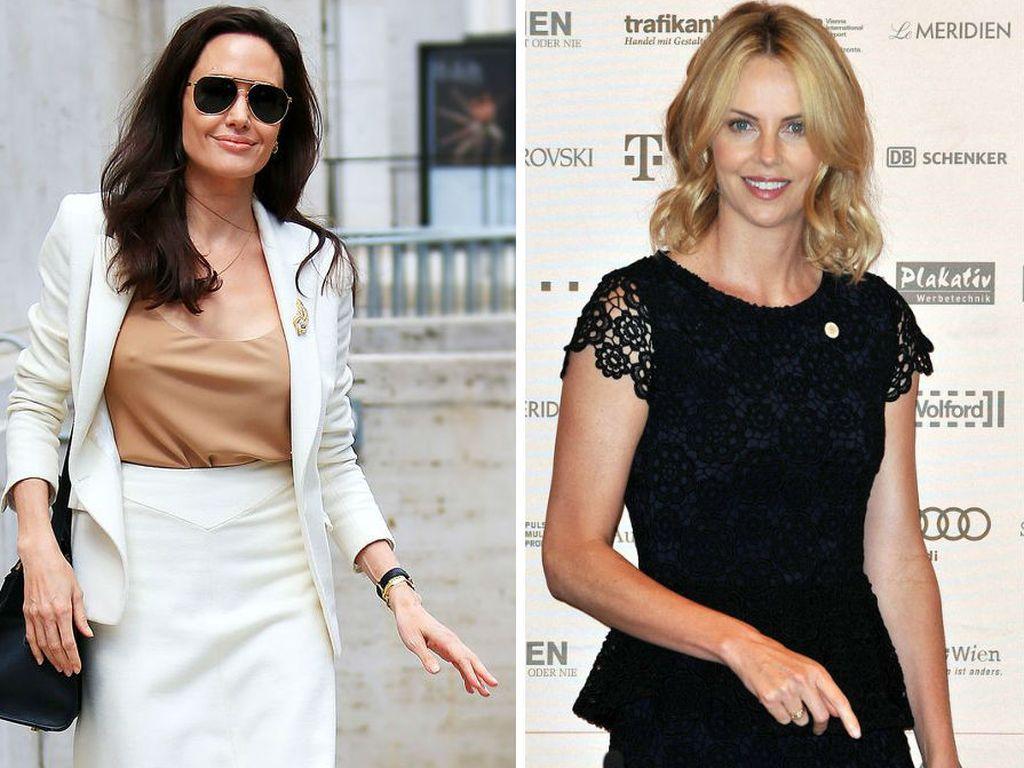 Angelina Jolie und Charlize Theron