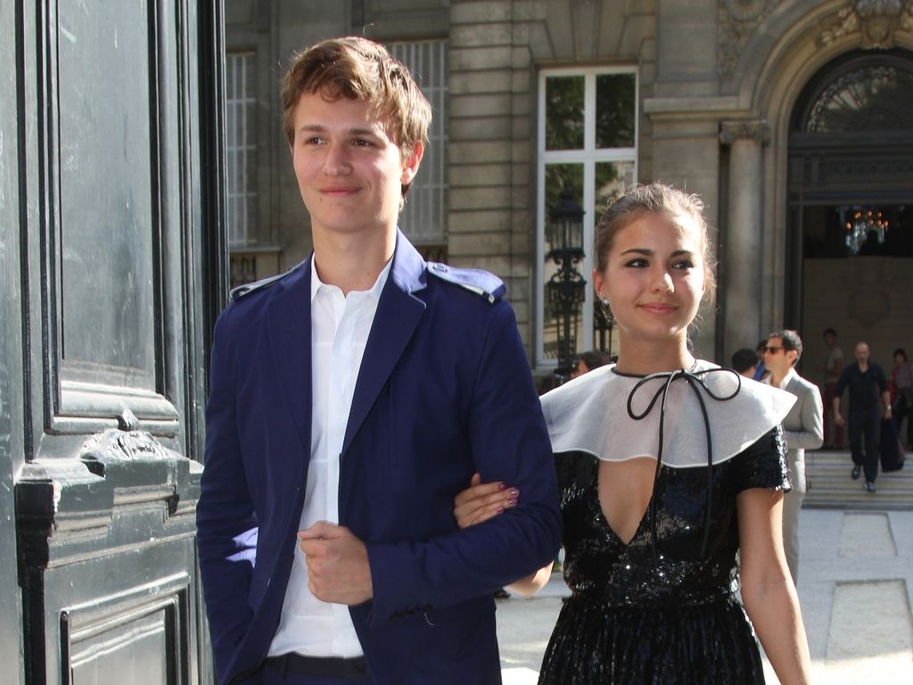 Ansel Elgort und Violetta Komyshan
