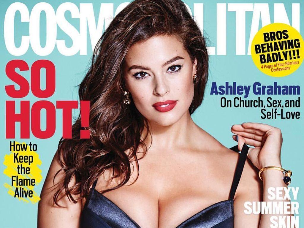 Ashley Graham auf dem Cosmopolitan-Cover
