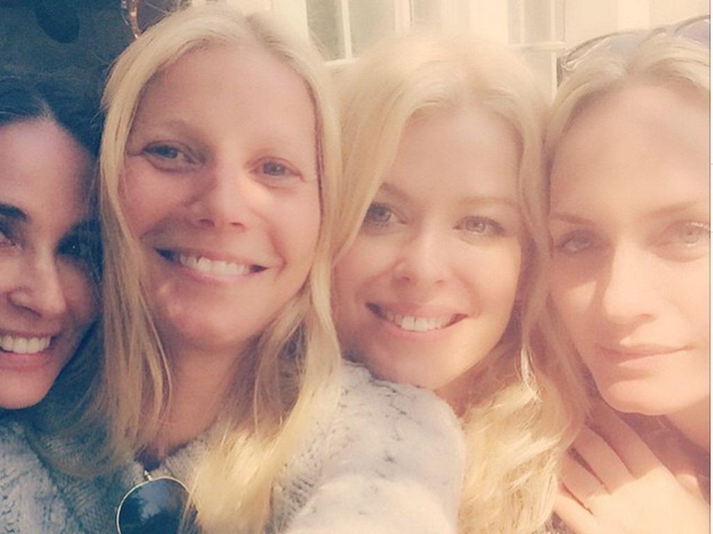 Gwyneth Paltrow, Demi Moore und Amber Valletta
