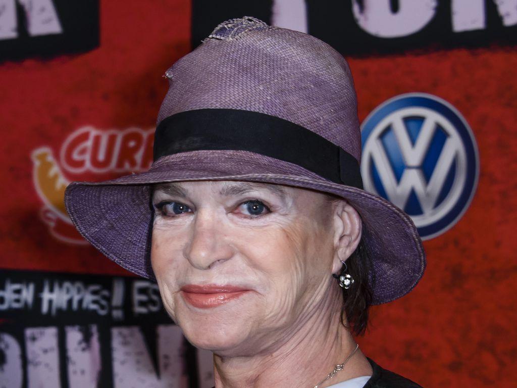 """Barbara Engel bei der """"Tod den Hippies!! Es lebe der Punk""""-Premiere"""