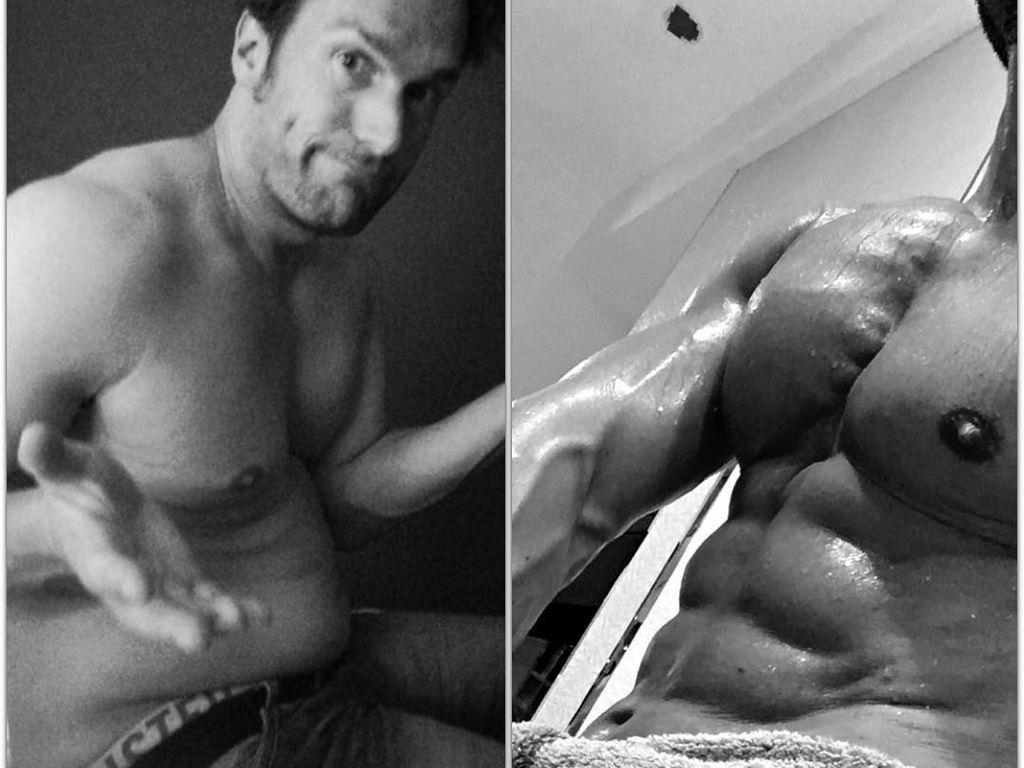 Bastian Yottas Body im Vergleich