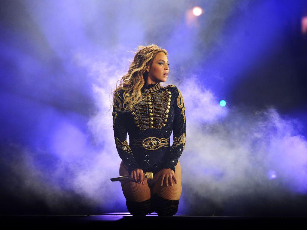 Beyoncé beim Konzert