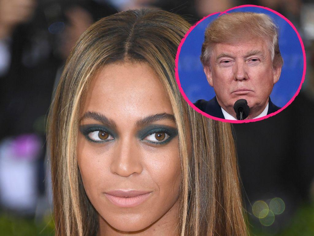Beyoncé und Donald Trump