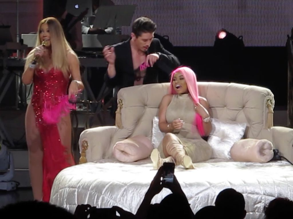 Blac Chyna auf der Bühne bei Mariah Careys Vegas-Show