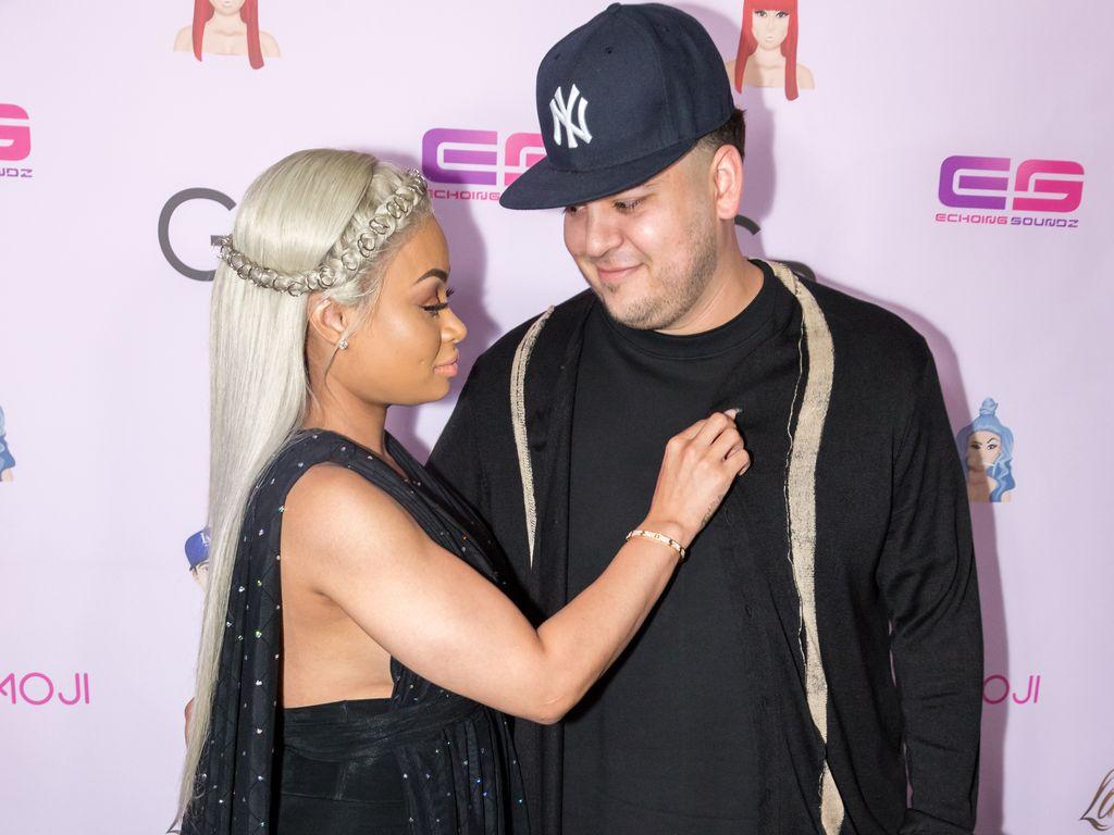 Blac Chyna und Robert Kardashian im Mai 2016 in Los Angeles