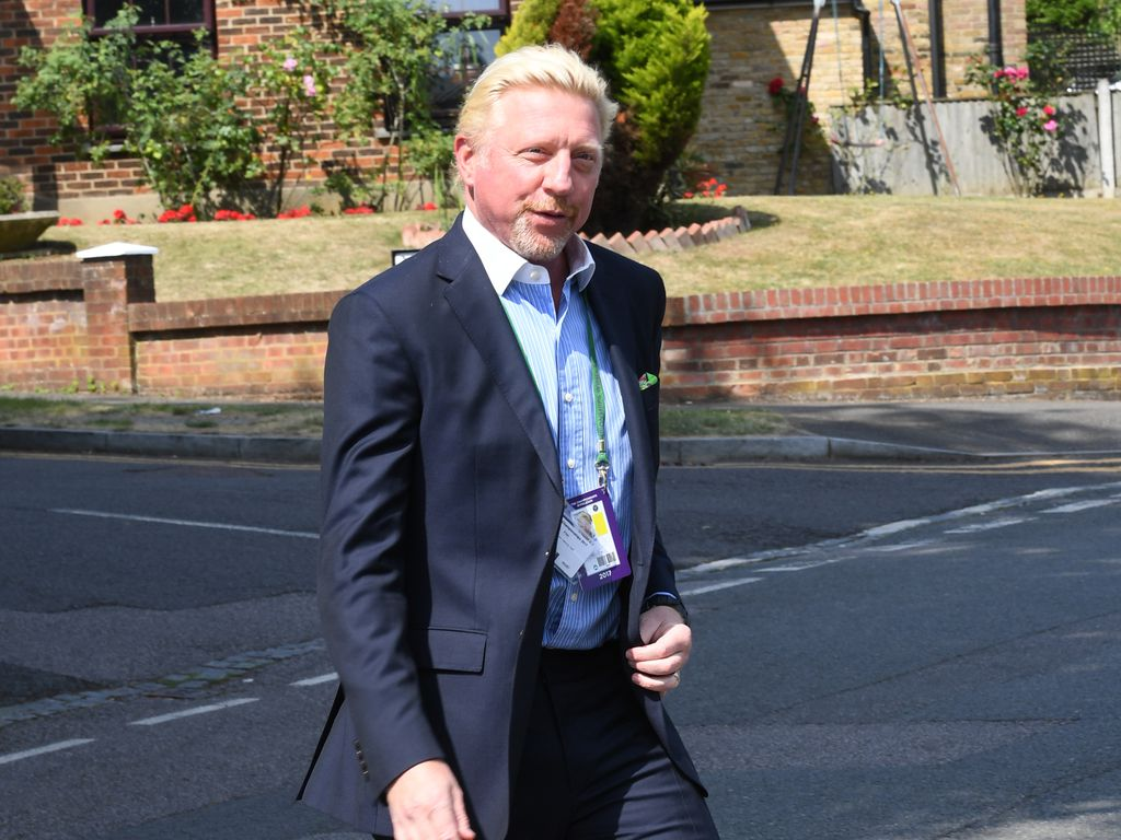 Boris Becker in London