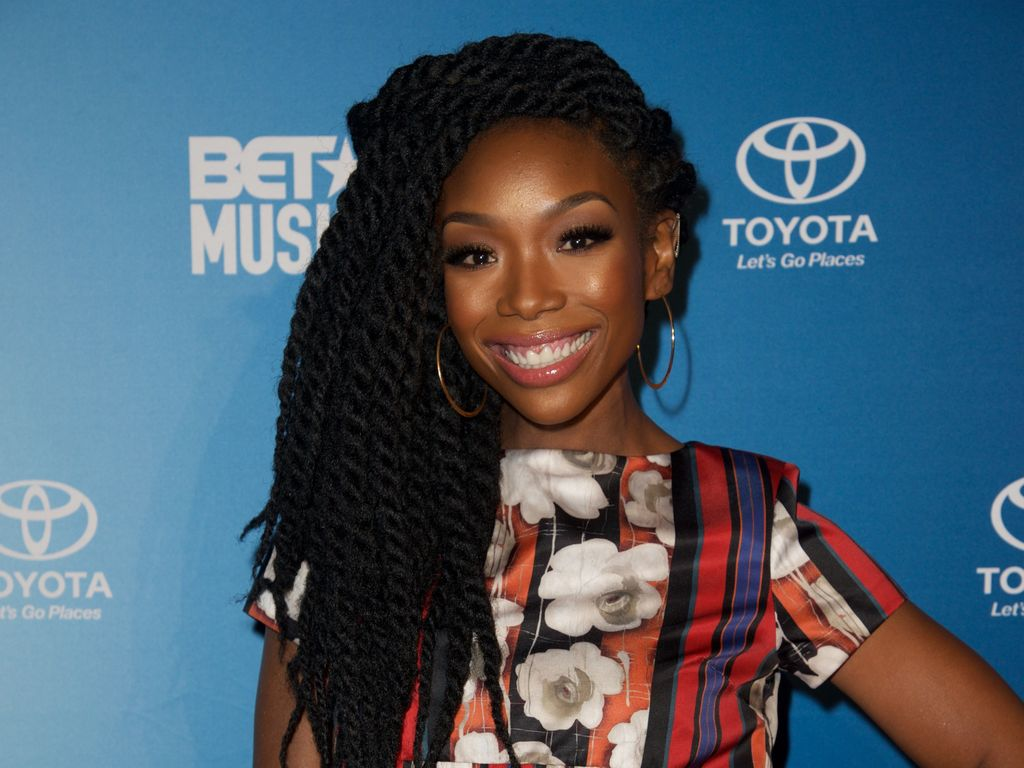 "Brandy beim ""BET Music Matters Grammy Showcase"""