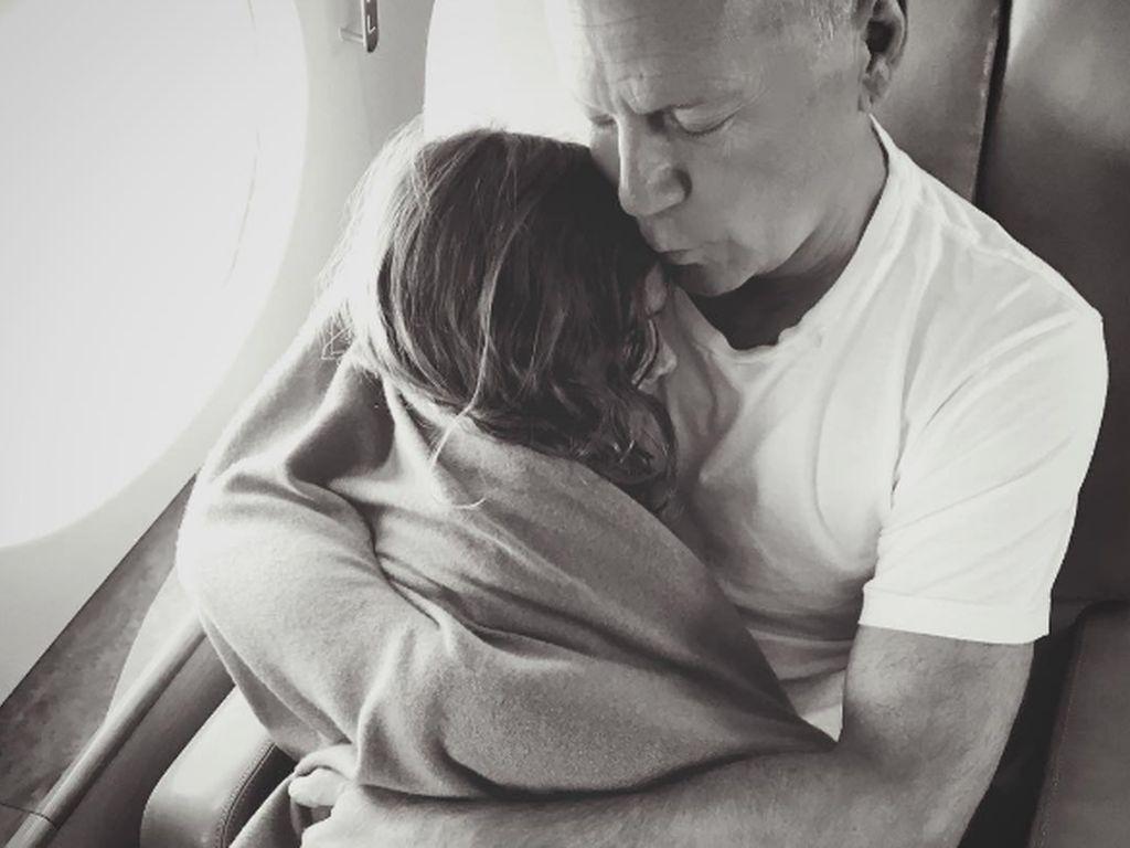 Bruce Willis und seine Tochter