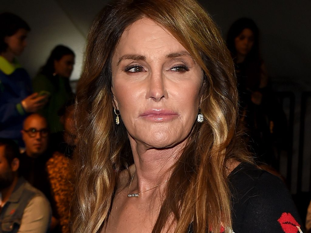 Caitlyn Jennerbei der Moschino Show in Los Angeles